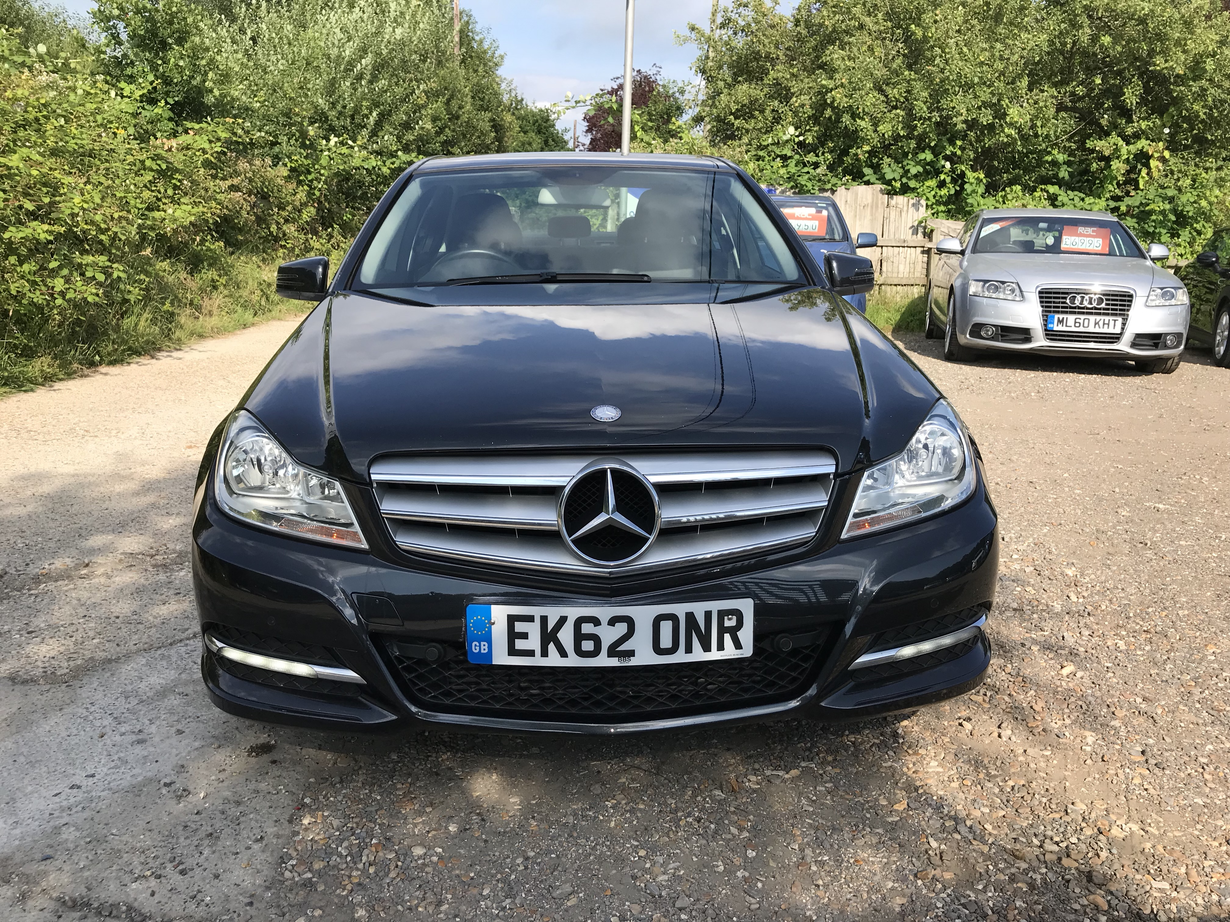 Mercedes-Benz C Class 2 1 C200 CDI SE (Executive) 4dr 2012 (62) 95,966  miles Diesel Manual Black 2 owners, FULL SERVICE HISTORY | Lan Motors Ltd